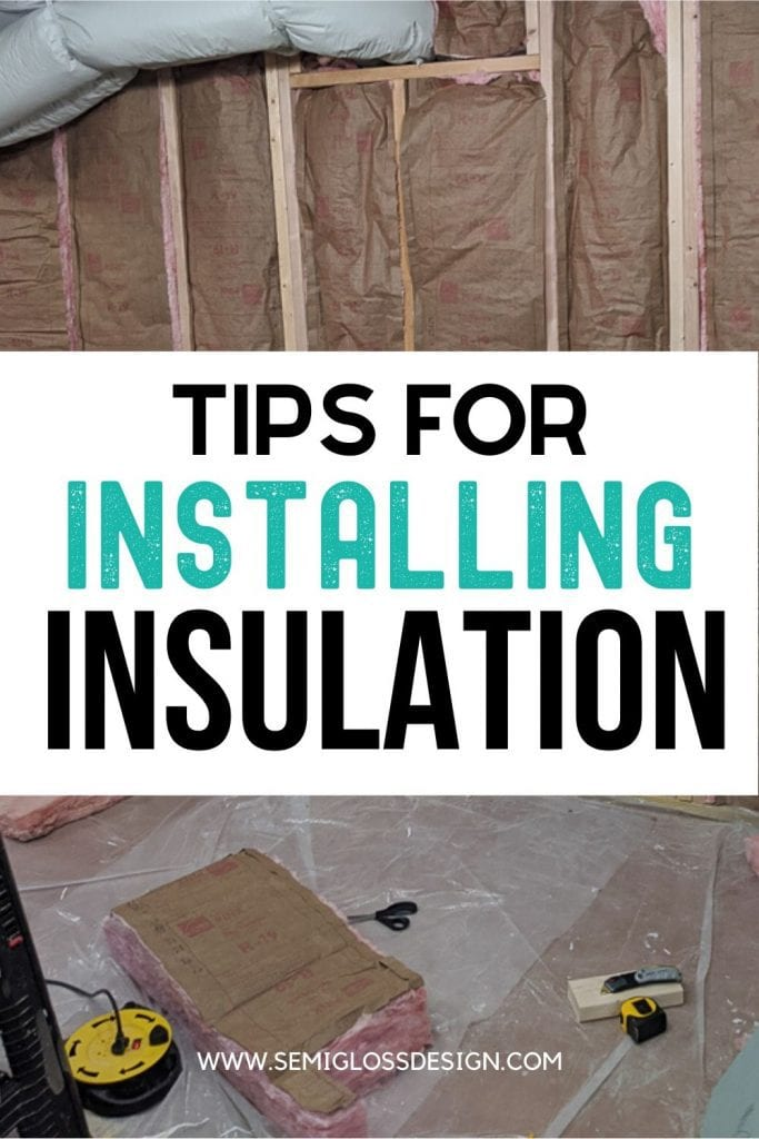 insulation tips