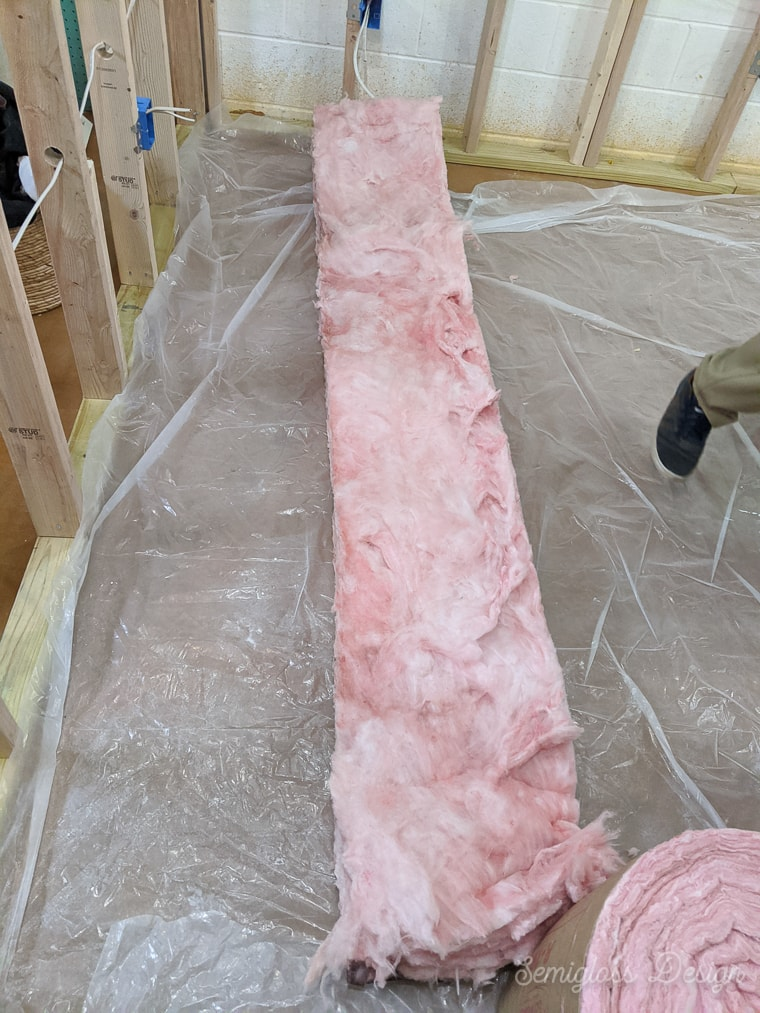 cutting insulation to length
