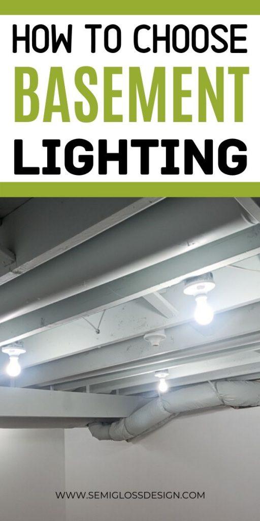 basement lighting