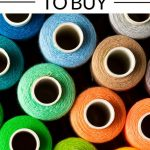 pin image - spools of colorful thread