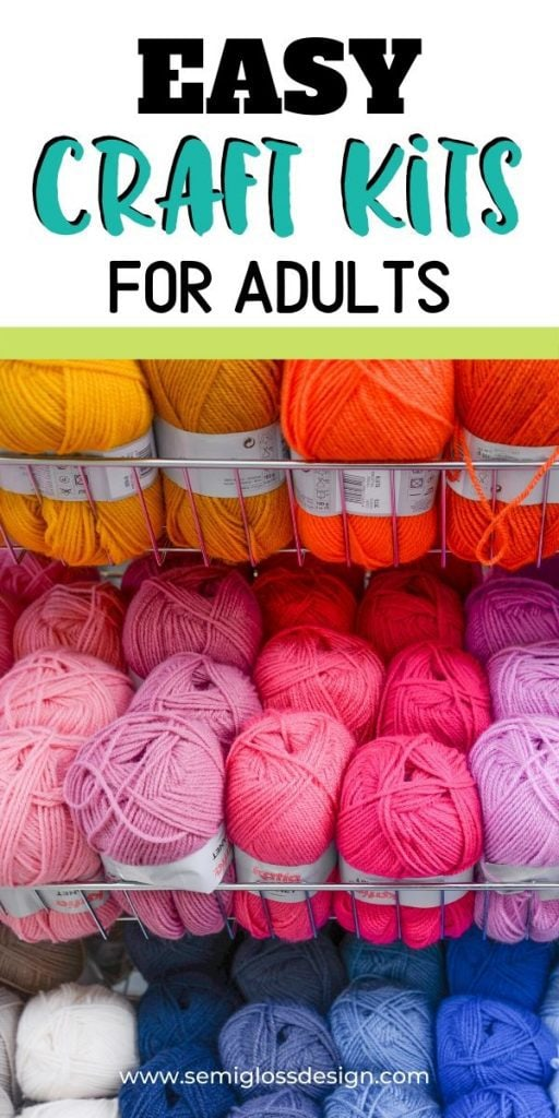 yarn in bright colors