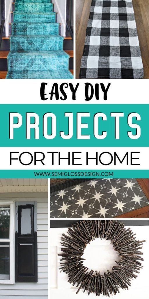 easy projects collage