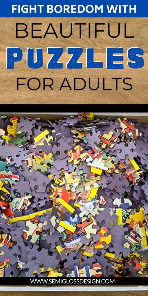 jigsaw puzzles for adults collage