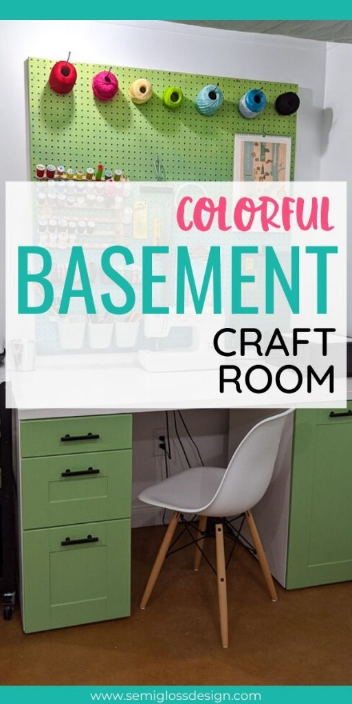 pin image basement craft room