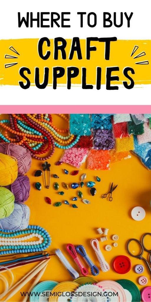 buy craft supplies collage