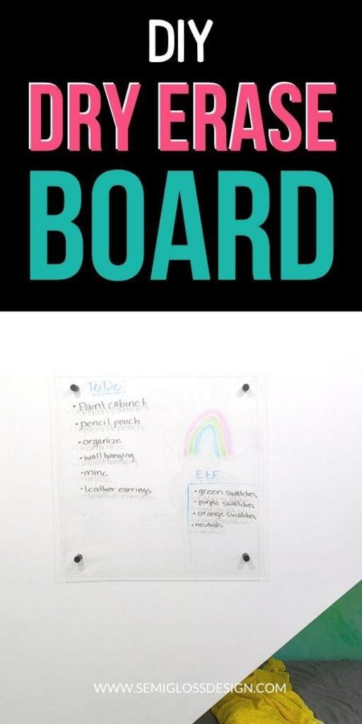 pin image - dry erase board collage