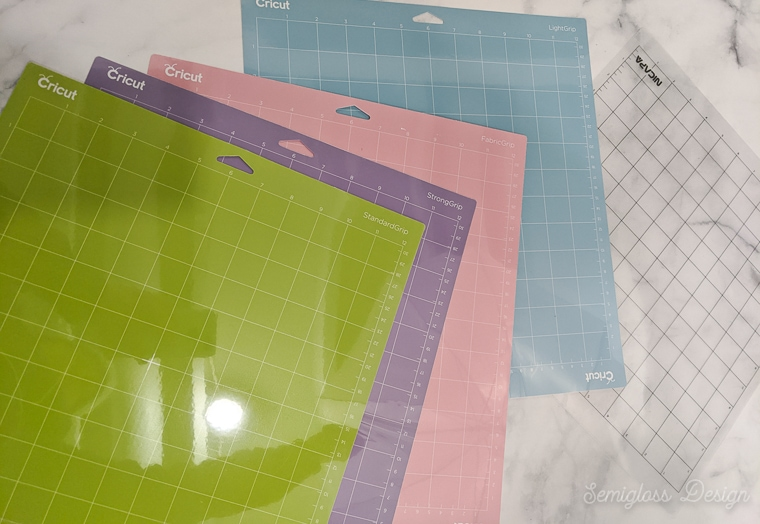 cutting mats for cricut and silhouette