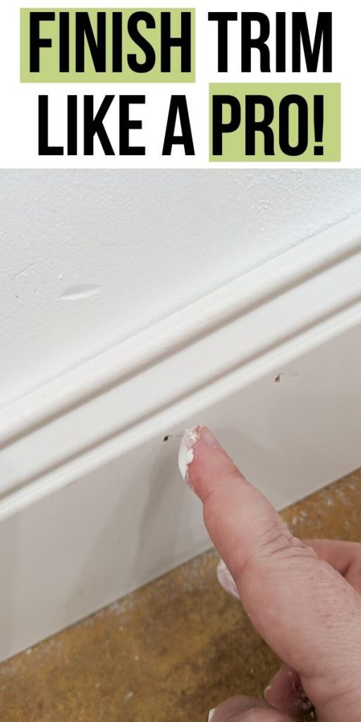 pin image - finish trim