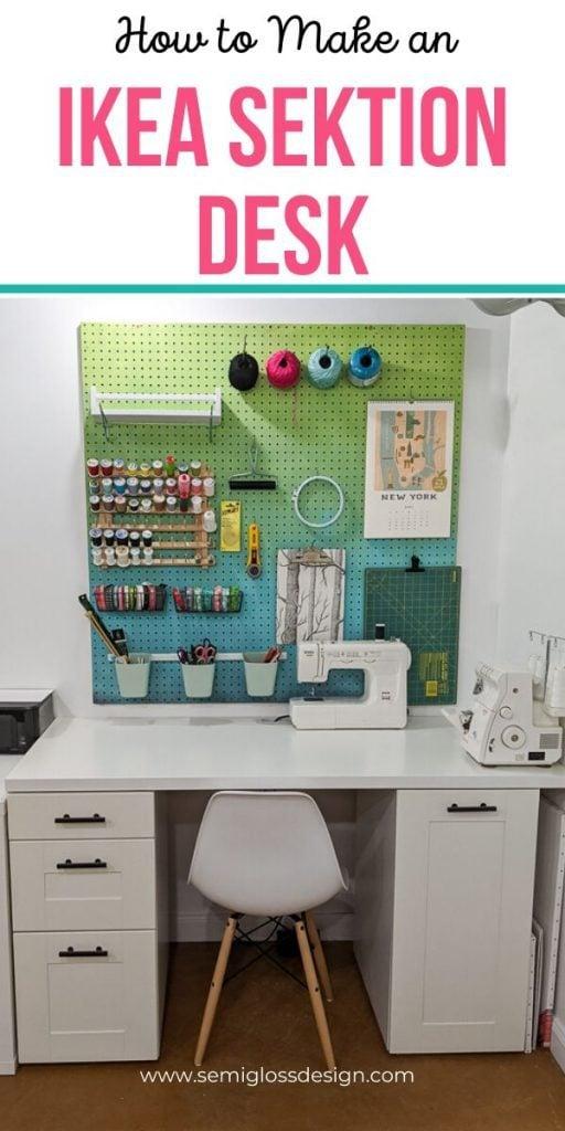 pin image - ikea sektion cabinet desk