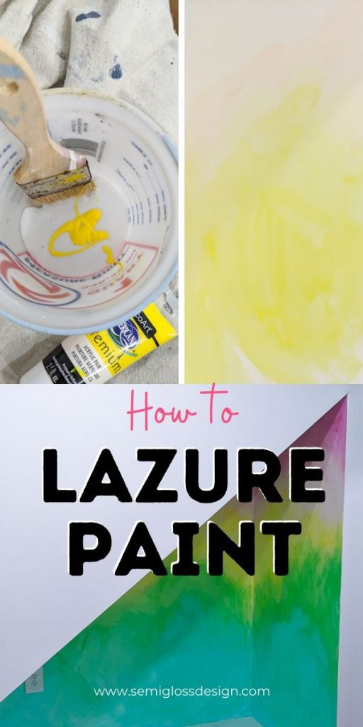 pin image - how to lazure paint