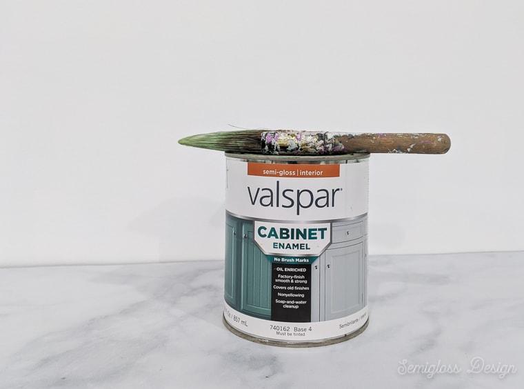 valspar cabinet paint