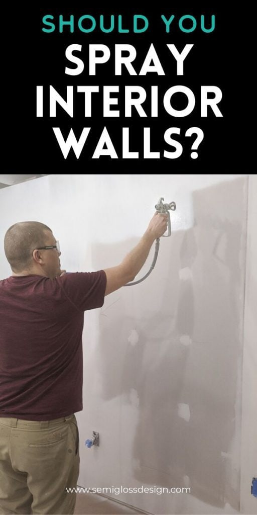 pin image - paint sprayer for interior walls