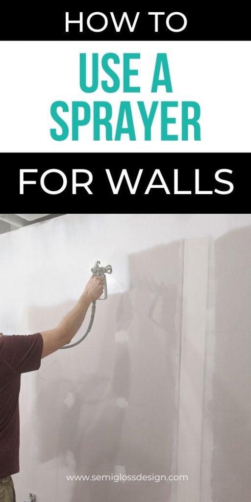 pin image- sprayer for interior walls