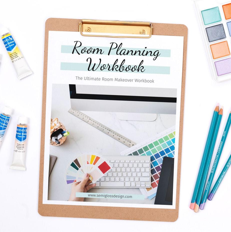 workbook mock up on clipboard