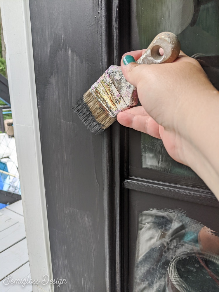 painting the rest of the door