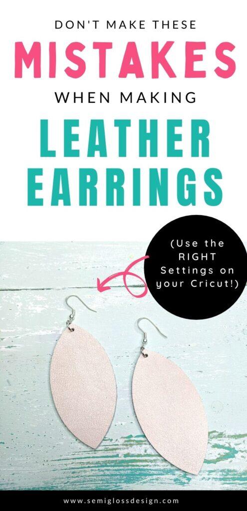 pin image - leaf shaped earrings