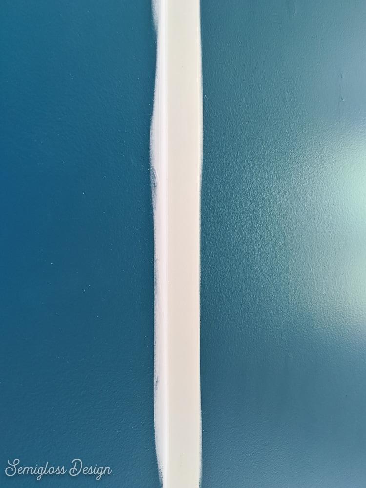 caulk all edges of trim