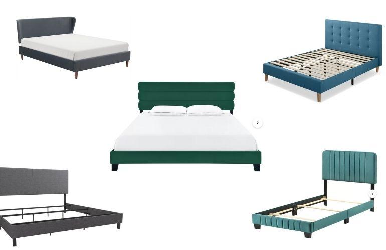 affordable upholstered beds