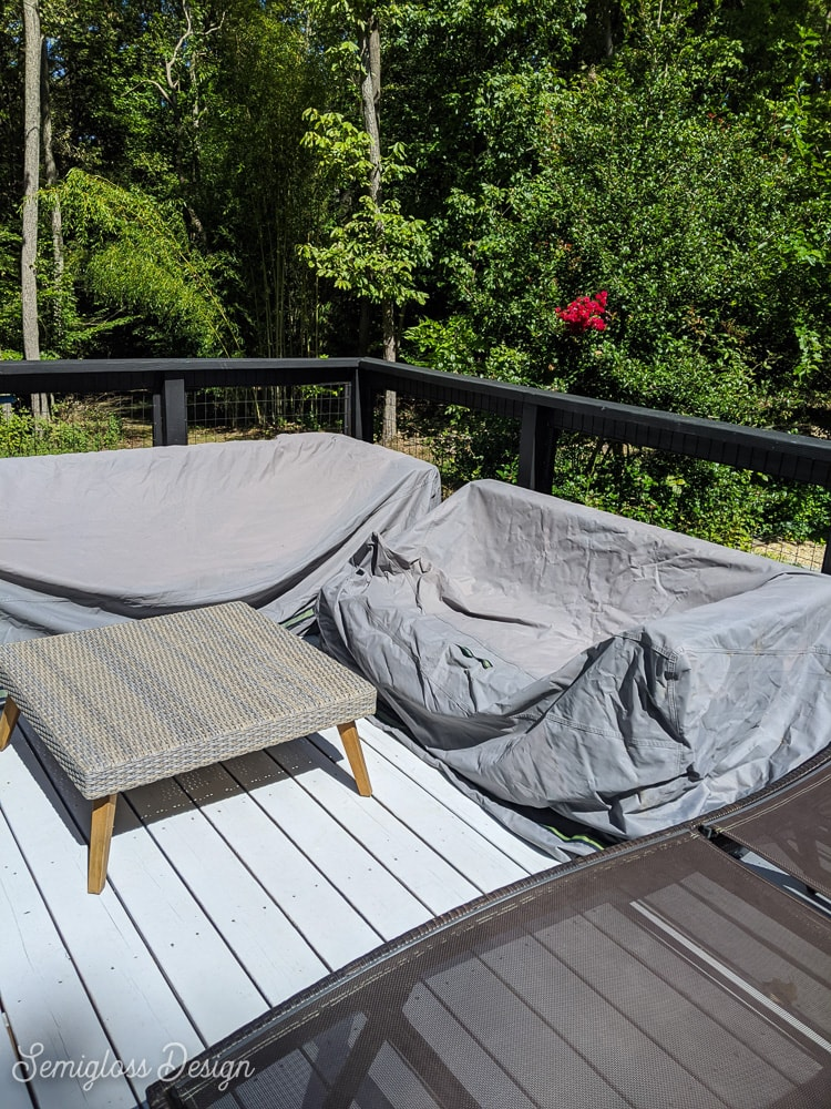 patio furniture with covers