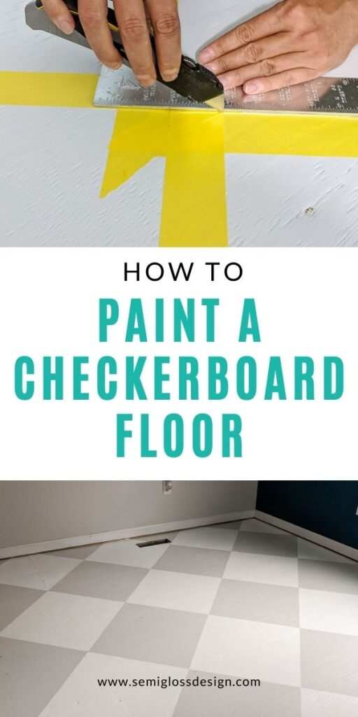 pin image - checkerboard floor collage