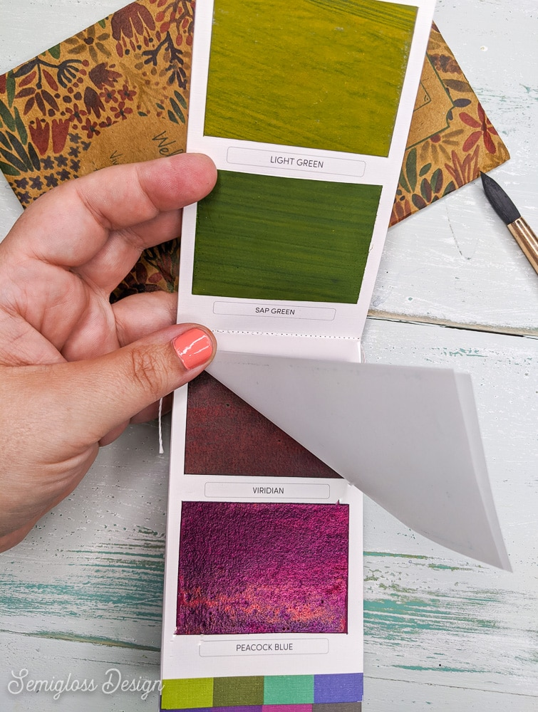 watercolor colorsheets