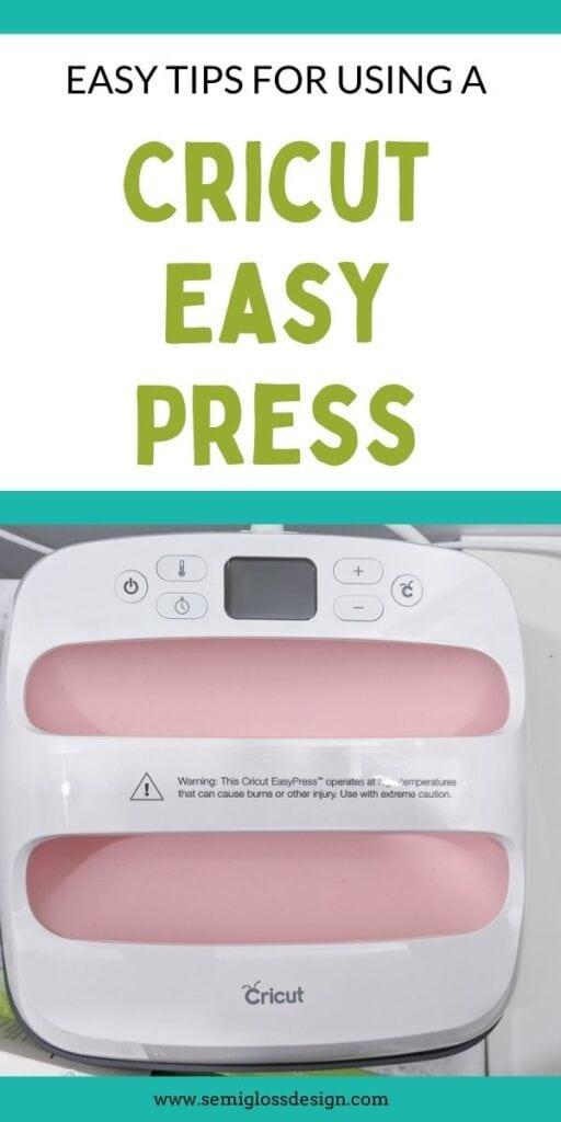 pin image- cricut easy press tutorial