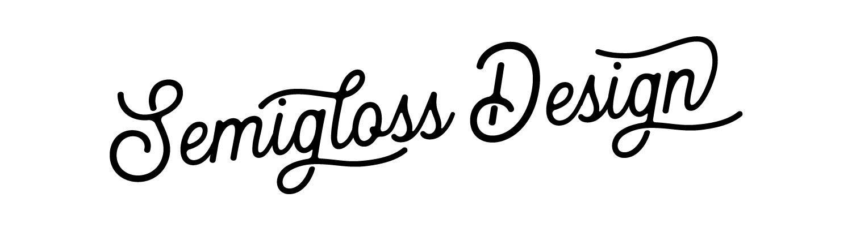 Semigloss Design logo
