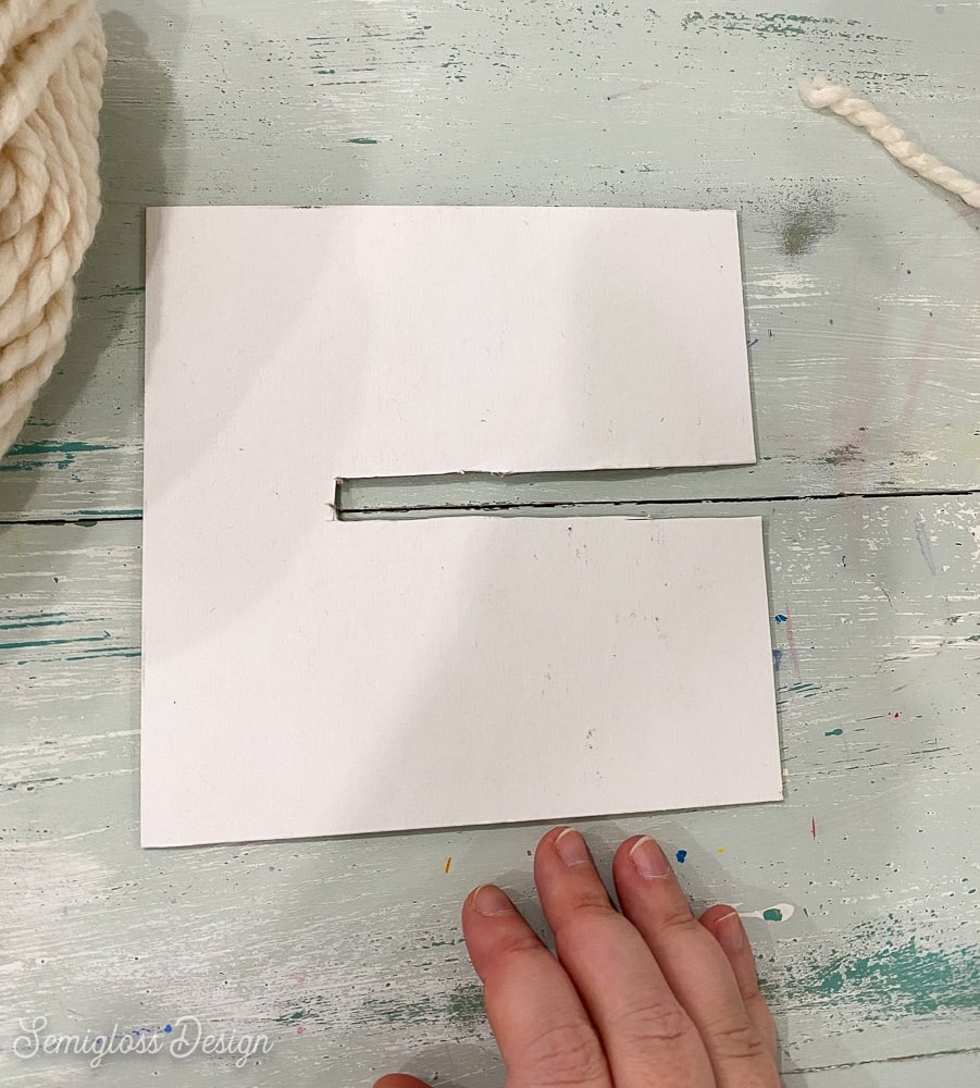 template for making large pom poms