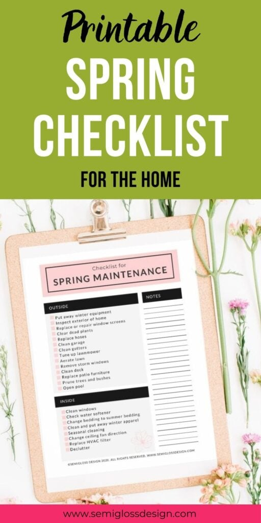 pin image - close up of clipboard with checklist