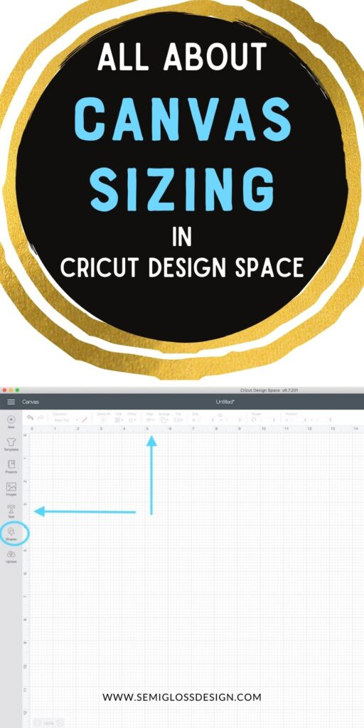 screenshot of cricut design space