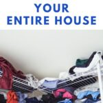 pin image - messy closet