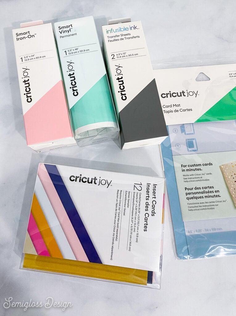 cricut joy materials