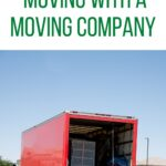 red moving truck