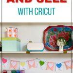 cricut maker in craft room